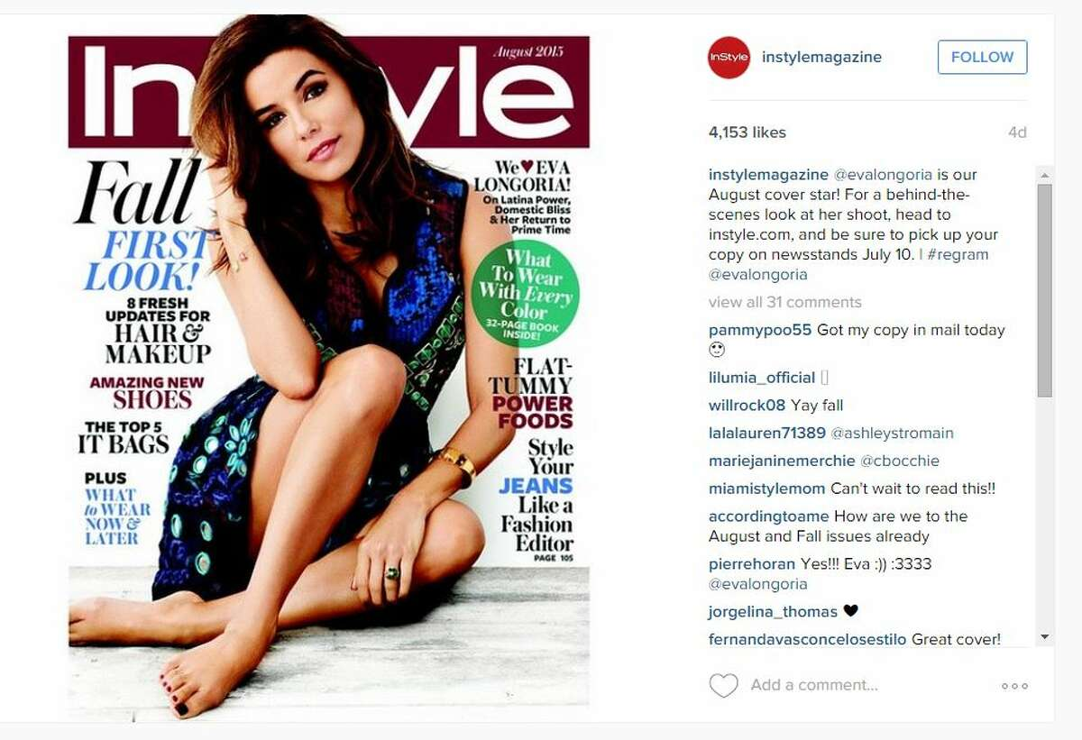 """Eva Longoria recently said for her upcoming cover story with InStyle magazine that she wants to be the """"female George Clooney."""""""