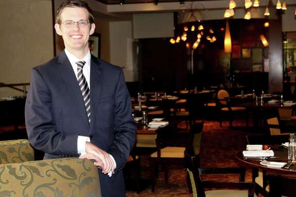 Cory Cuff, Food/Beverage manager at the Four Seasons Hotel.