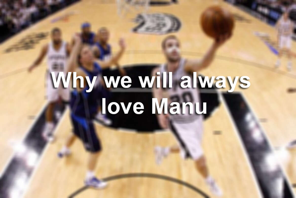 Here are the 20 reasons why Spurs nation will always love Manu Ginobili.