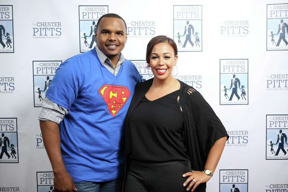 Chester Pitts and Devi Dev Photo: Quy Tran / ONLINE_YES