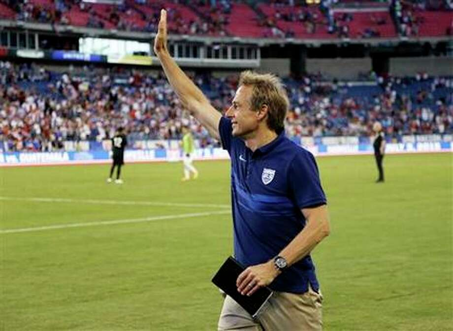 Jurgen Klinsmann's Team USA squad bounced back Tuesday against Guatemala after a surprising loss a week ago, leaving him to defend his tactics. Photo: Mark Humphrey, AP / AP