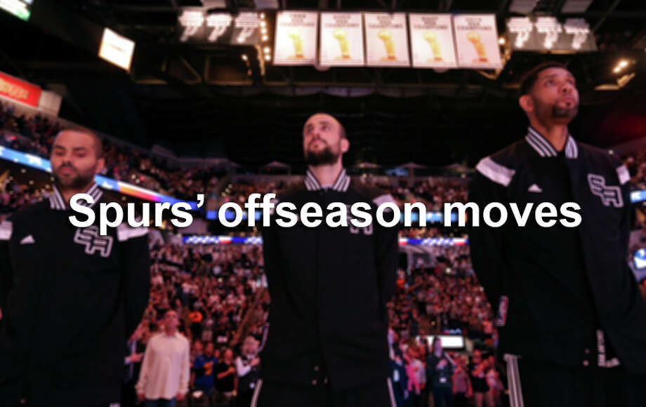 The 2015 offseason has been one of the biggest ever for the Spurs. Here is a breakdown of what went down. Photo: Edward A. Ornelas, SAEN / © 2015 San Antonio Express-News