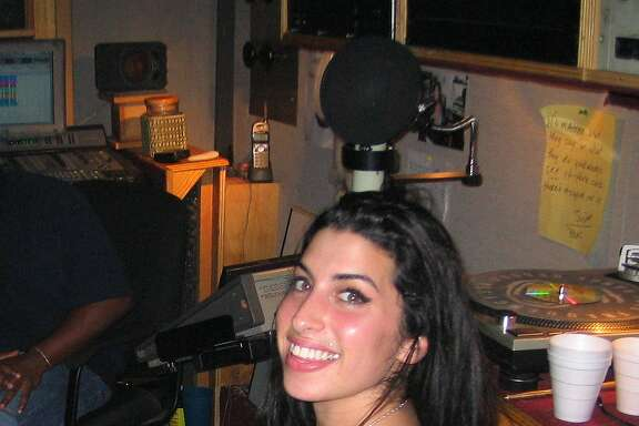 "amy-movie-P1547_NickShymansky_IMG_0032_rgb.jpg Caption: The new documentary ""Amy"" shows the late singer-songwriter Amy Winehouse in a happier time. Credit: Nick Shymansky/A24"