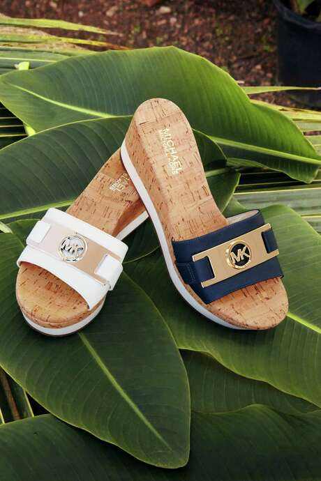 Michael Kors platform slide, $99, Macy's. Photo: Courtesy Macy's / San Antonio Express-News