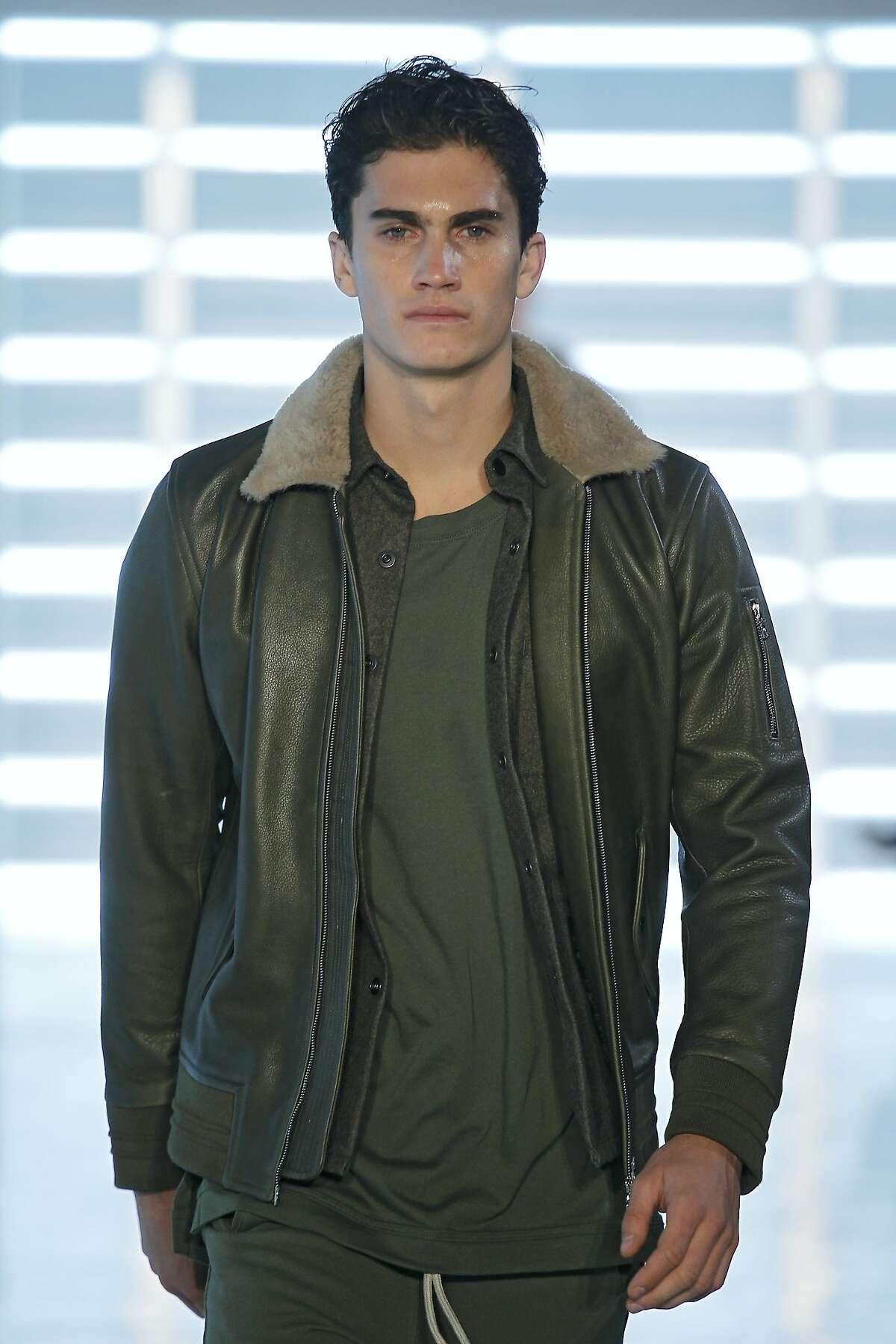 A look from John Elliott's fall/winter 2015 runway show. FW15 NEW YORK FASHION WEEK