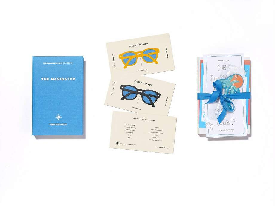 Items from Warby Parker's Summer Editions collection, available at 357 Hayes St., S.F. Photo: Warby Parker