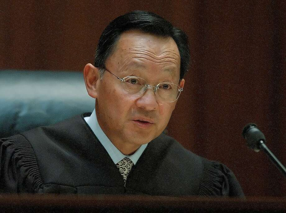 Ruling Monday, July 6, 2015, in a San Francisco domestic violence case, California Supreme Court Justice Ming Chin wrote in a majority opinion that police personnel files contain sensitive material and are off-limits even to prosecutors, under state law. (AP Photo/Paul Sakuma) Photo: Paul Sakuma, AP