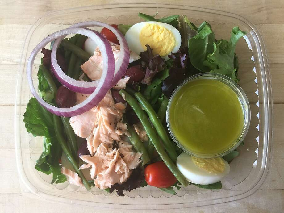 Salmon Nicoise salad from Spoonrocket Photo: Amanda Gold