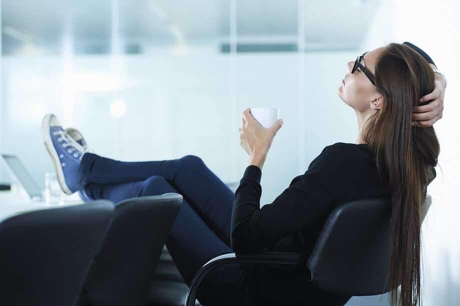 Work 25, take 5: Some studies recommend working in 25 minute bursts punctuated by five minute breaks. This strategy maximizes your productivity by rewarding you with time to relax. Photo: Ghislain & Marie David De Lossy, Getty Images / Cultura RF