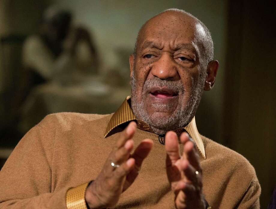 "This photo taken Nov. 6, 2014 shows entertainer Bill Cosby gesturing during an interview about the upcoming exhibit, Conversations: African and African-American Artworks in Dialogue, at the Smithsonian's National Museum of African Art in Washington. BC's top entertainment executive says the door is firmly shut to Bill Cosby's return to the network. In the wake of new and renewed allegations of sexual assault against Cosby, NBC executive Bob Greenblatt said Friday that it was ""safe to say"" NBC would never air a project with the comedian. (AP Photo/Evan Vucci, File) Photo: Evan Vucci, STF / AP"
