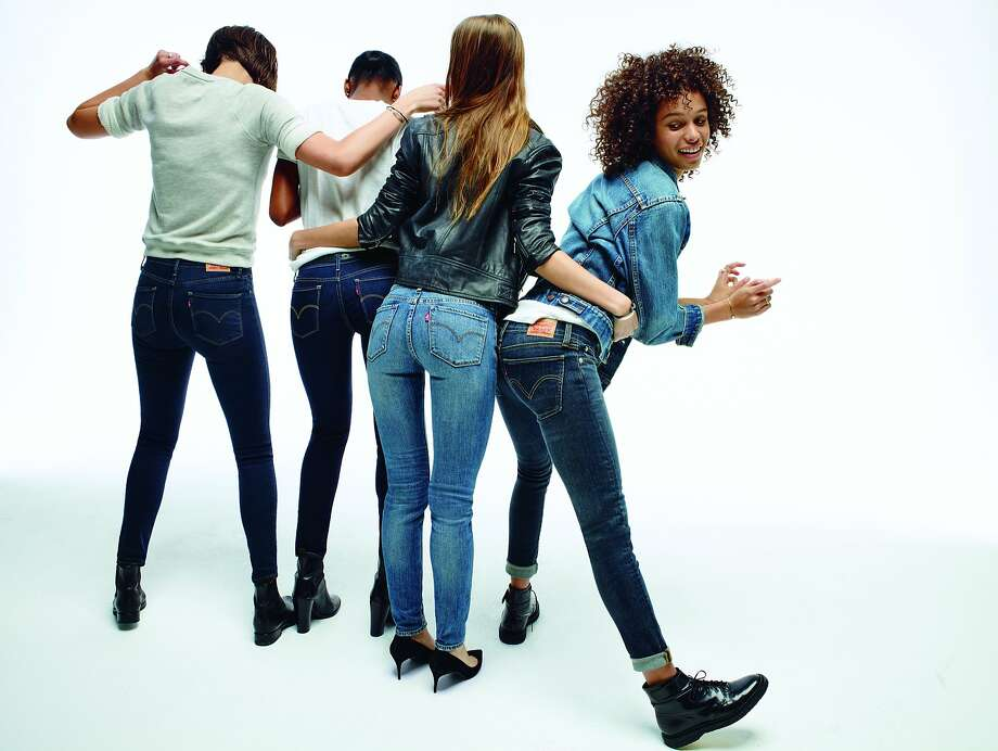 Levi's introduces its newly revamped women's denim collection July 8. Singer-songwriter Alicia Keys will be the face of the line. Photo: Levi's