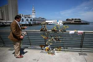 S.F. pier killing suspect charged with murder - Photo