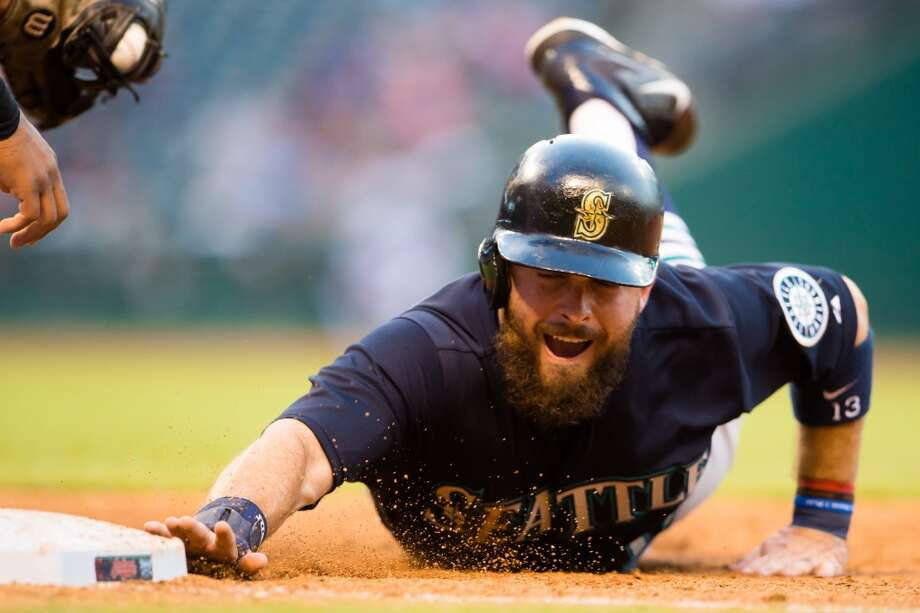 Dustin Ackley Outfielder | Age: 27 | Fifth MLB season GRADE: D Notes: Ackley's inverted development since his debut season in 2011 is summarized by his 2015 first half, when he's been a near-Mendoza line hitter, an iffy baserunner and now irregular starter. He has, however, developed into a solid defender. Stats through 82 games: 70 games, .206 average, 32 hits, 14 RBIs, 5 home runs, 33 strikeouts Photo: Getty Images