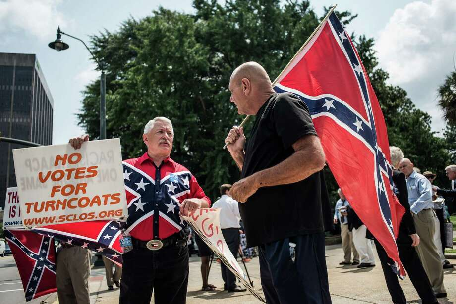 The South Carolina  Legislature on Monday began the debate on whether to remove Confederate flag from Statehouse grounds after the issue was reignited by the murders in Charleston, S.C. at Emanuel AME Church in June. Photo: Sean Rayford, Stringer / 2015 Getty Images