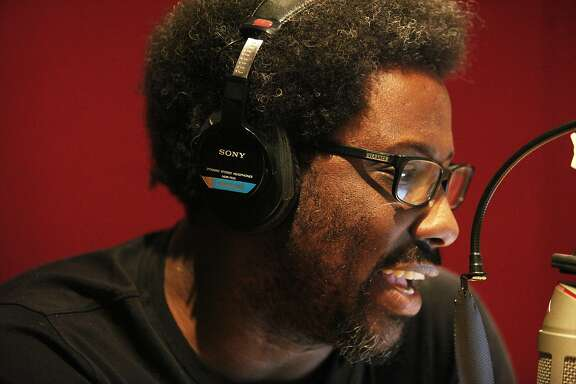 Comic W. Kamau Bell, who fine tuned his comedic chops in the Bay Area for several years prior to landing his FX show called Totally Biased With W. Kamau Bell, is back in the Bay Area performing sold out shows at The Marsh Berkeley Arts Center and also working on his podcast entitled Denzel Washington Is The Greatest Actor of All Time Period with fellow comedian Kevin Avery.  Kamau can be seen working on his podcast.