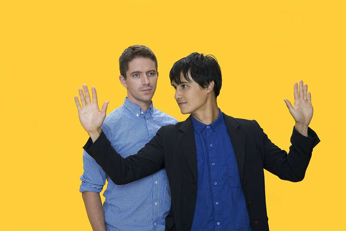 The Dodos' Logan Kroeber and Meric Long perform at California Academy of Sciences'