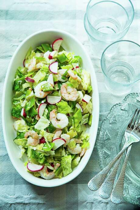 Shrimp and Snow Pea Salad with Sesame Photo: Scott Suchman /The Washington Post / THE WASHINGTON POST
