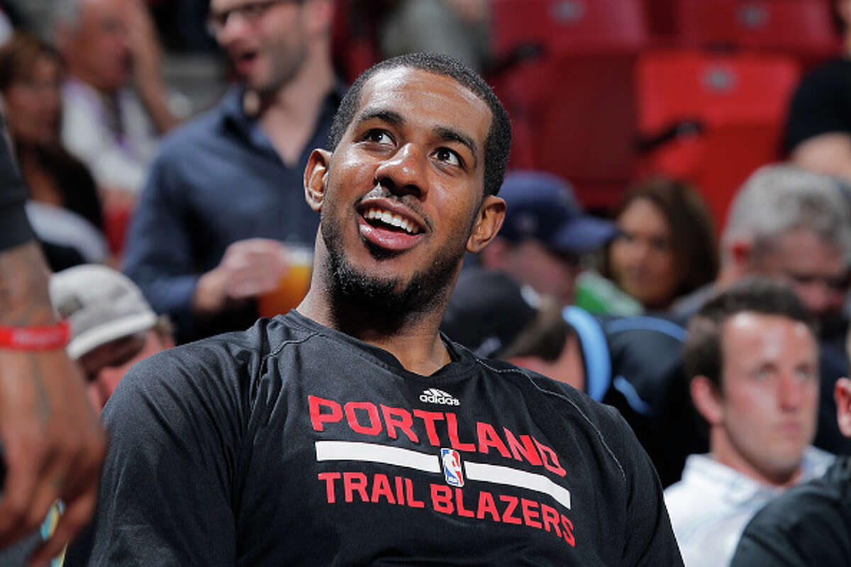 2. He's a leader With his 220th double-double, he set the Portland Traiblazers' record, according to ESPN.