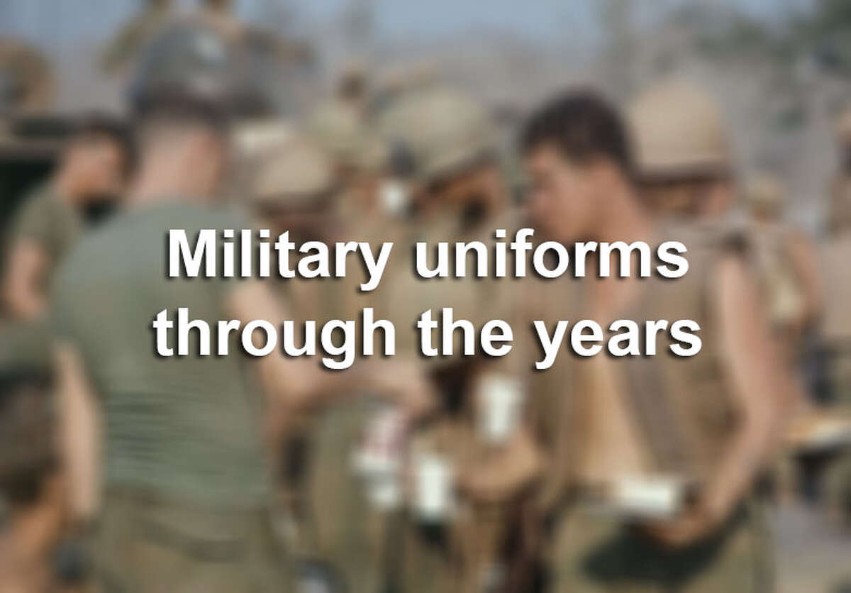 Take a look at how military uniforms have changed in appearance over the years.