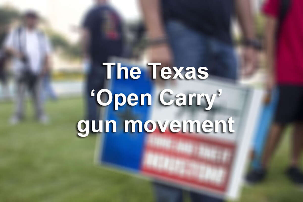 Here's a look at the Open Carry movement in Texas. Click through the slideshow to see photos from various events across the state.