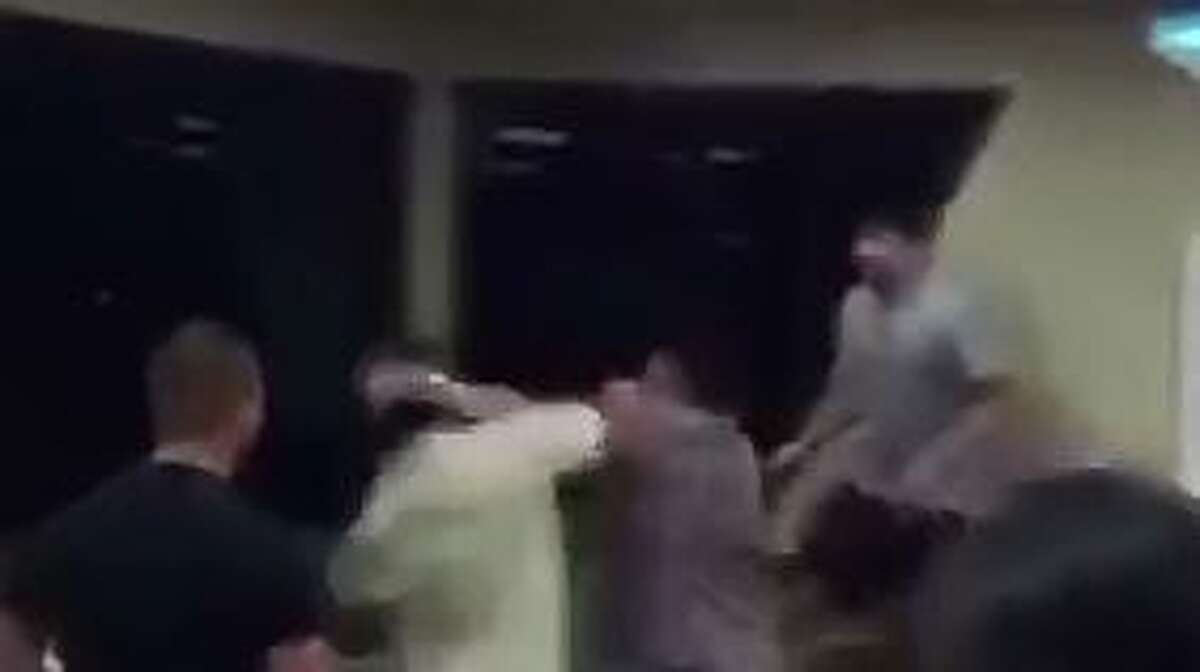 Screenshots from the video show a brawl that occurred June 26 at a Whataburger in Edinburg.