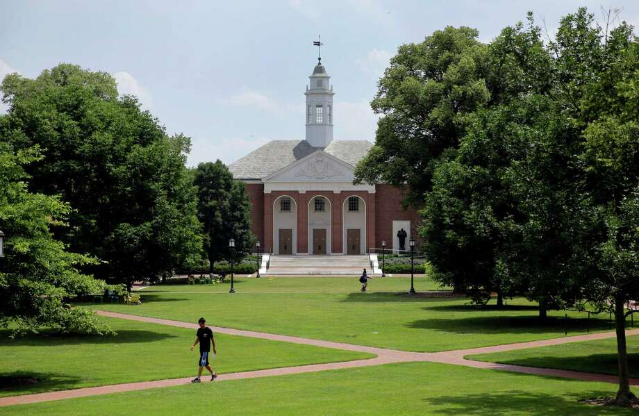 25. Johns Hopkins UniversityBaltimore, Md.Endowment: $3.45 billionAverage cost per student: $22,973 per yearAverage salary of full-time faculty: $114,625Annual research budget: $1.35 millionSource:The Best Schools Photo: Patrick Semansky, Associated Press / AP
