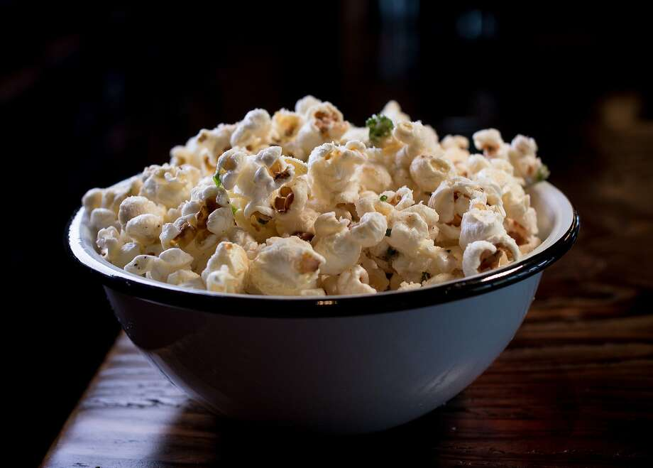 James Syhabout's Caesar popcorn. Photo: John Storey, Special To The Chronicle