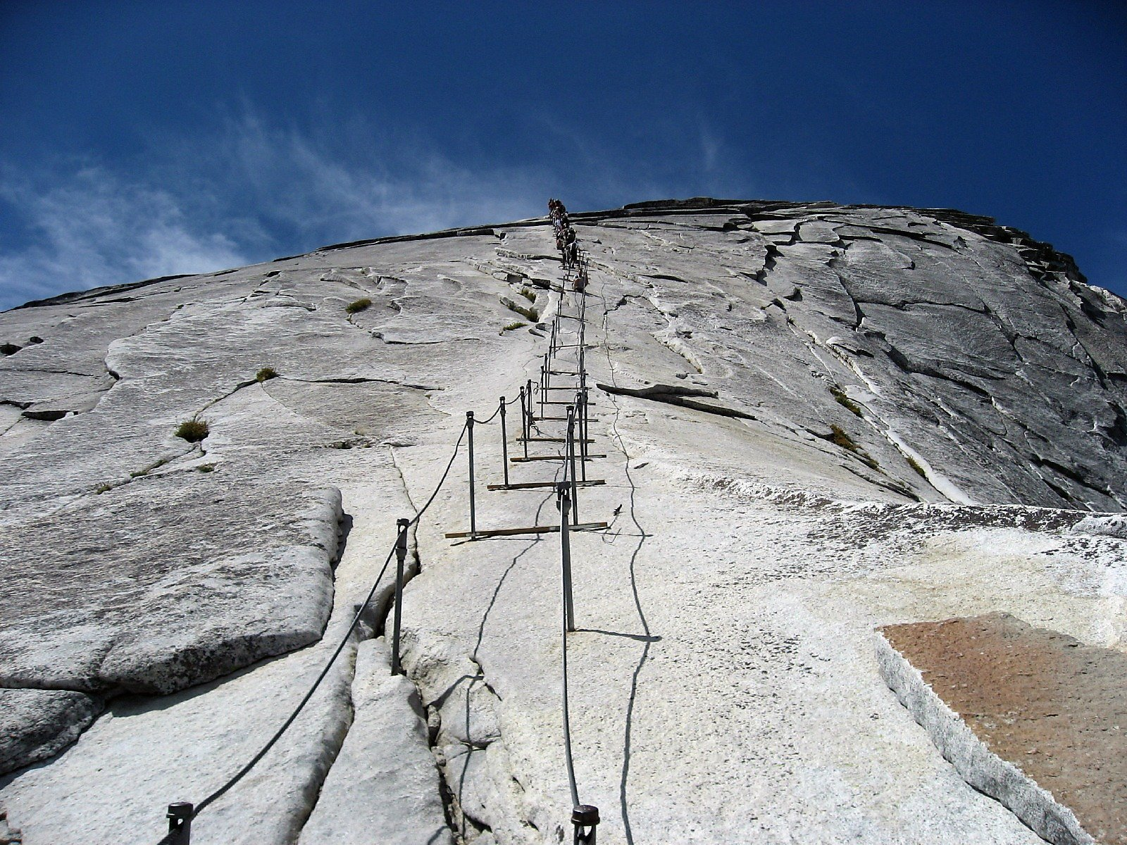 Lottery Open To Score Yosemite Half Dome Cable Permits