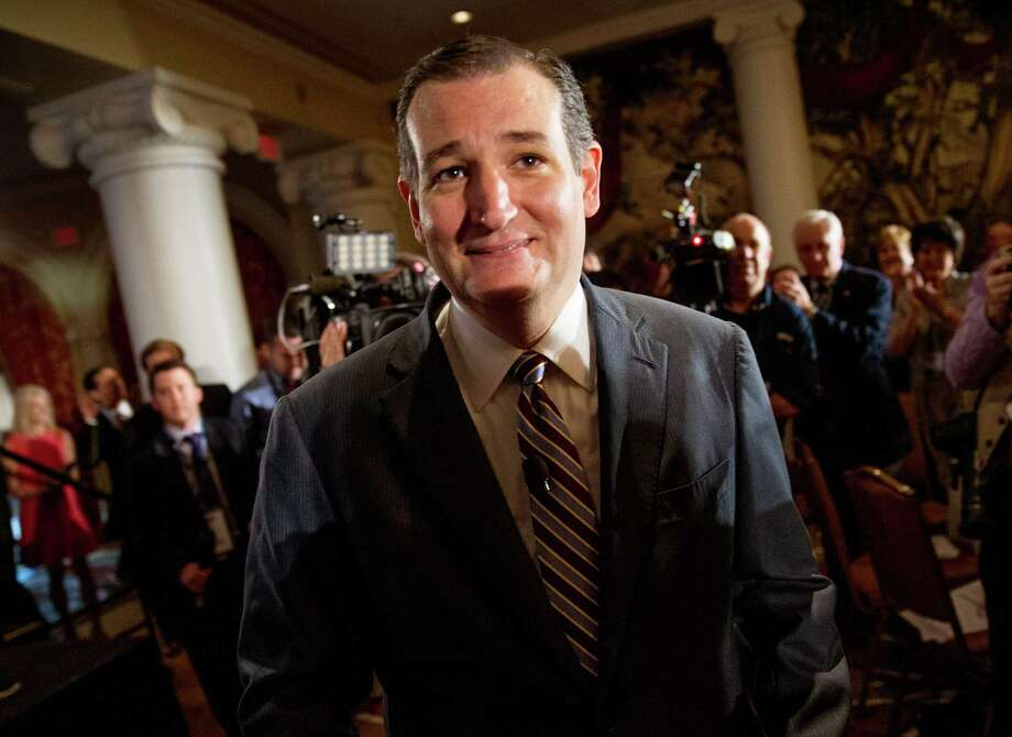 Sen. Ted Cruz's suggestion that U.S. Supreme Court Justices be elected is truly bad idea. Photo: Andrew Harnik /Associated Press / AP