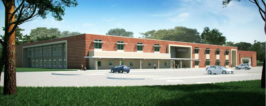 This rendering shows the planned Meridiana Elementary School.This rendering shows the planned Meridiana Elementary School. Photo: Alvin ISD