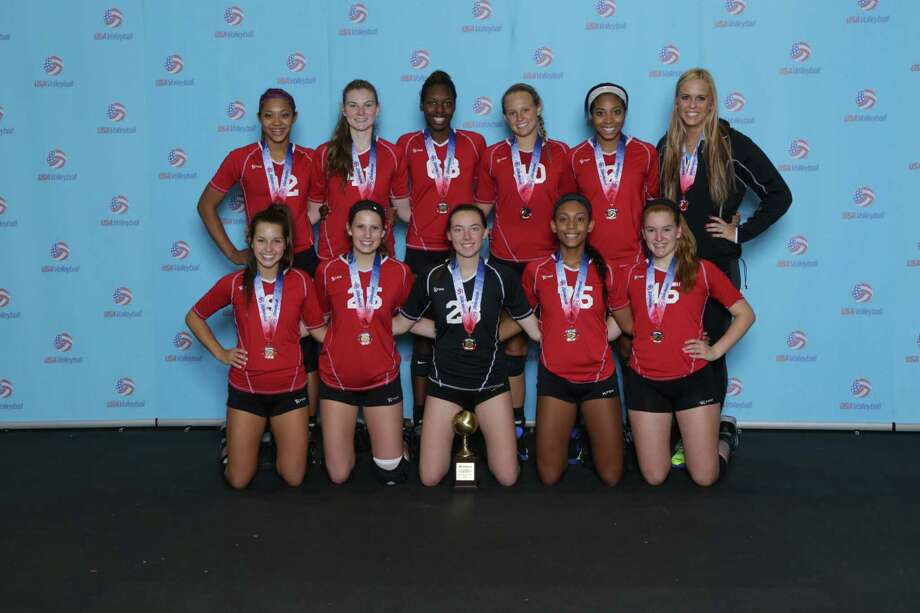Dickinson-based Absolute Volleyball Academy 17 Rox won USA Volleyball s Junior National Championship in New Orleans. Photo: Courtesy AVA / Handout