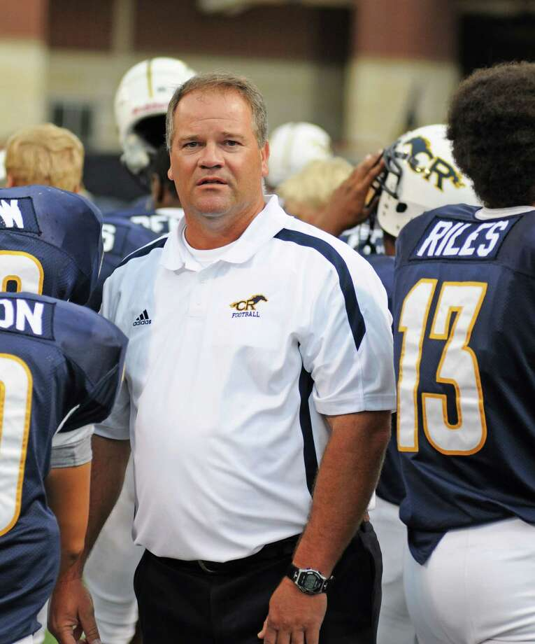 Cy Ranch football head coach Gene Johnson. Cy Ranch and Langham Creek square off in 17-5A action at 7 p.m. Friday, Sept. 28, at the Berry Center for Cy Ranch's 2012 Homecoming. Photo: L. Scott Hainline / freelance