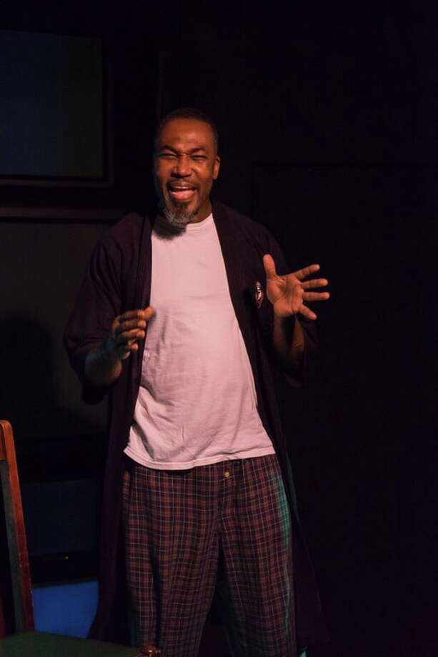 "Kevin Majors plays a recovering meth addict in ""Water by the Spoonful,"" playing in the Cellar Theater of The Playhouse San Antonio. Photo: Courtesy Siggi Ragnar / Courtesy Siggi Ragnar"
