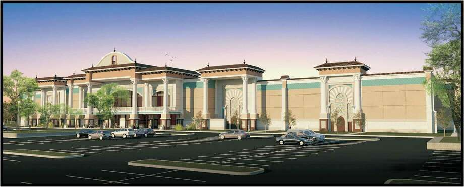 A rendering shows the facade of the Santikos Casa Blanca theater that set to open in the first quarter 2016 on Alamo Ranch Parkway near Texas 151 and Loop 1604. It will include bowling lanes, a restaurant and in-theater dining. Photo: Courtesy Photo / Courtesy Photo