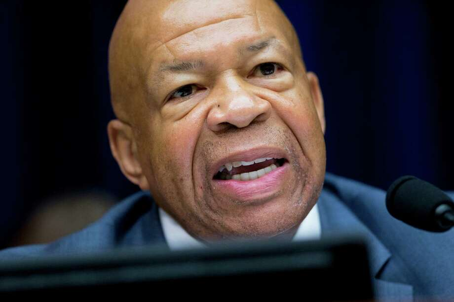 Representative Elijah Cummings, a Democrat from Maryland, makes an opening statement during a House Oversight and Government Reform Committee hearing on the U.S. Office of Personnel Management (OPM) data breach in Washington, D.C., U.S., on Wednesday, June 24, 2015. U.S. senators said yesterday they doubt the government's personnel office understands the breadth of a computer hack that exposed the records of more than 4 million federal workers, or that the agency can stop another breach. Photographer: Andrew Harrer/Bloomberg *** Local Caption *** Elijah Cummings Photo: Andrew Harrer / © 2015 Bloomberg Finance LP