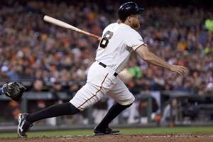 Giants missed Pence, but he doesn't miss a beat - Photo