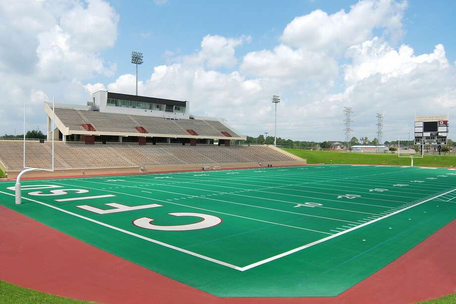 Pridgeon Stadium's football field received an artificial turf upgrade in 2012. Photo: Handout