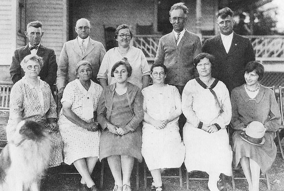 The Grange was an important presence in the Greater New Milford area back in the 19th century and well into the 20th century. Various chapters dotted the area and beyond, representing the interests and providing a social network for many in the farming community. Above, members of the home economics committee of Bridgewater Grange Chapter 153 pose in March 1900 during their annual clam bake and picnic at the farm of William B. Curtis. In later years, the Bridgewater chapter accepted numerous Roxbury residents as members. Those who would like to loan or contribute a photo from any of the Greater New Milford-area towns should bring it to Norm Cummings at the Greater New Milford Spectrum office at 45B Main St. or email ncummings@newstimes.com. If the photo is to be returned, please leave a phone number and mailing address. Photo: 'Images Of America - Roxbury And Bridgewater' / Contributed Photo