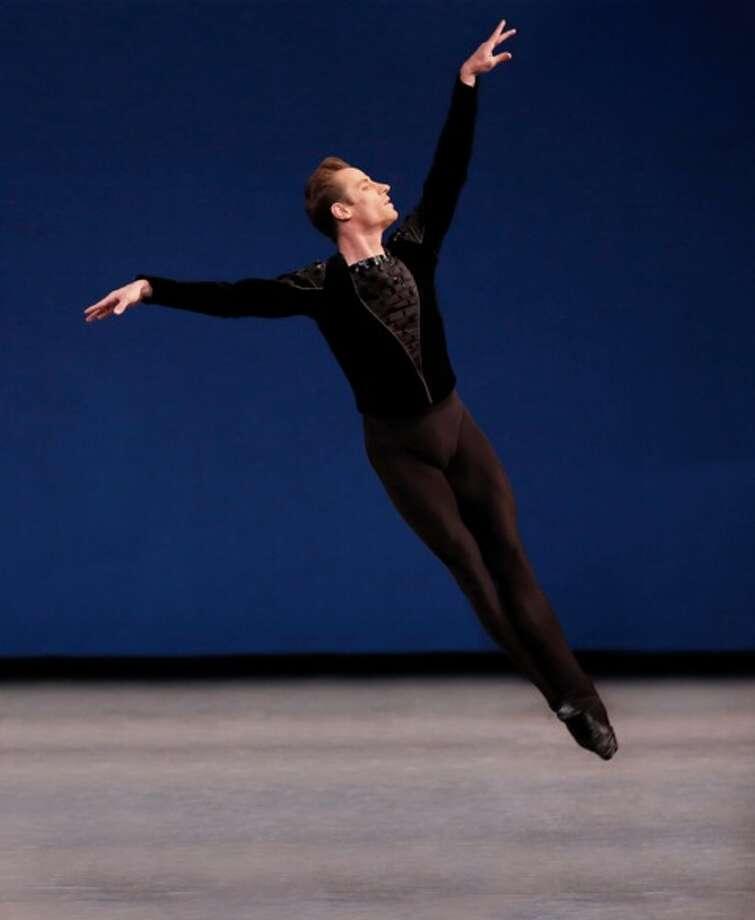 Andrew Veyette in Symphony in C. Photo credit: Paul Kolnik