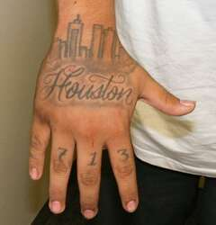 The symbols and meanings behind gang-related tattoos