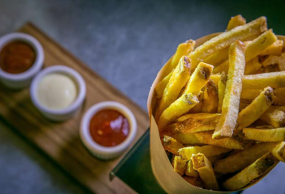 The Frites with garlic aioli, curry ketchup and house-made ketchup at Belga in San Francisco, Calif., is seen on July 7th, 2015. Photo: John Storey, Special To The Chronicle