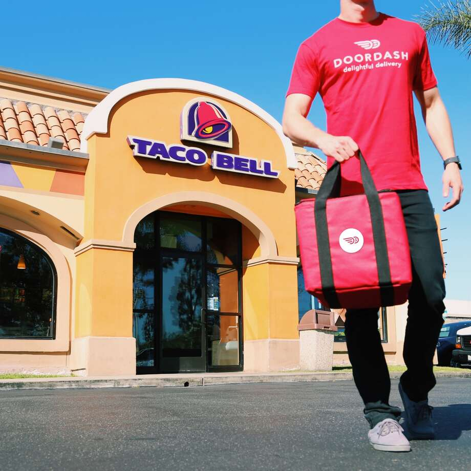 Taco Bell and DoorDash are teaming up to create a Taco Bell delivery service. The service is currently rolling out in Los Angeles, Orange County, San Francisco, and the Dallas area. The hope is to one day service over 90 cities, utilizing more than 200 restaurants across the United States. Houston, so far, isn't on the list of preliminary cities that will be getting the pleasure of on-demand Taco Bell. (Photo: Taco Bell)