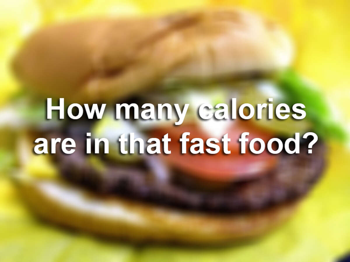 The U.S. Department of Agriculture estimates the number of calories needed a day at 1,600 to 2,400 per day for adult women and 2,000 to 3,000 per day for adult men, depending on age and physical activity level. So just how many calories do some of your favorite fast-food items contain? Click ahead to find out. Calorie information courtesy of FastFoodNutrition.org or the restaurant's website.