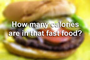 Here's a glimpse at some foods many of us commonly eat. Did you have any idea you were eating this many calories?