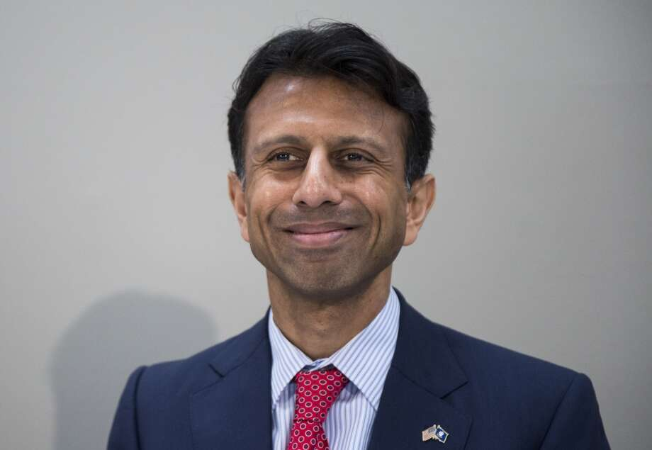 """As he prepared his presidential run, Jindal declared: """"Christianity is under assault in America.  The liberals...have forgotten their history. I will say this slowly so even Hillary Clinton can understand this. America did not create religious liberty. Religious liberty created America.""""  (Clinton is a lifelong Methodist active in her church. Jindal is a Catholic who converted from Hinduism.) Photo: Getty Images"""