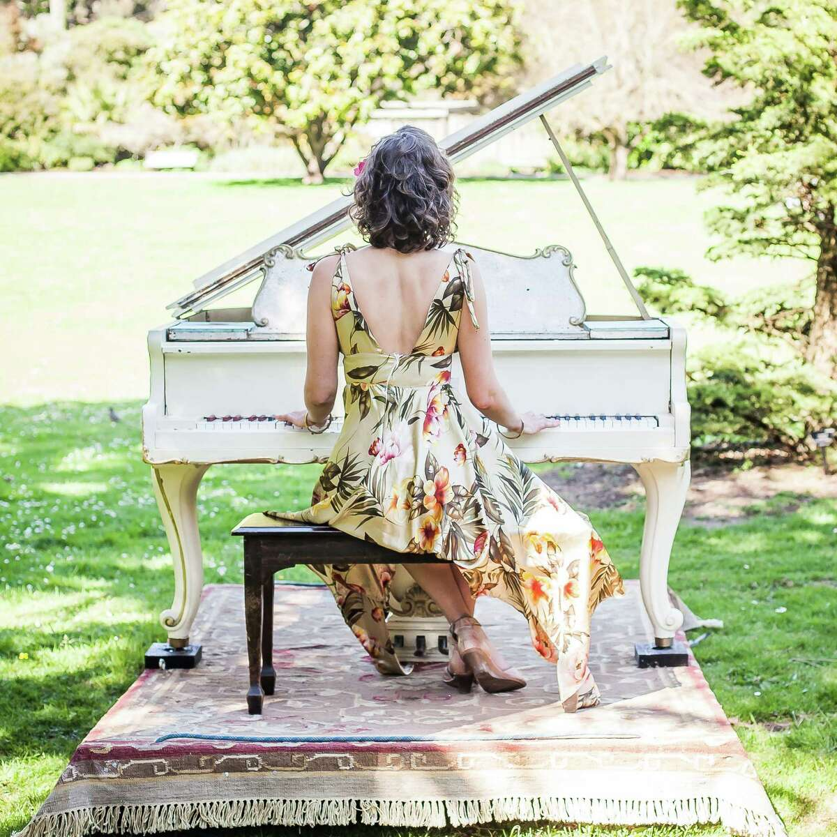 Flower Piano, taking place July 9 - 20, 2015.