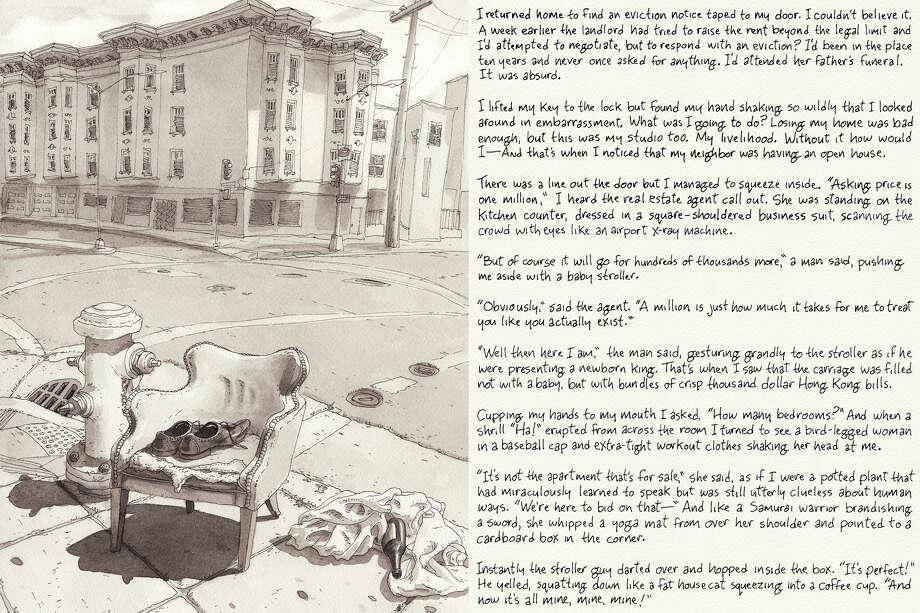 Eviction series #2 Photo: Paul Madonna