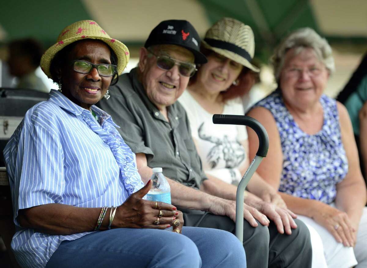 The Amerigo Vespucci Lodge hosted a community picnic for Elmwood Hall seniors Wednesday, July 8, 2015, on their grounds in Danbury.