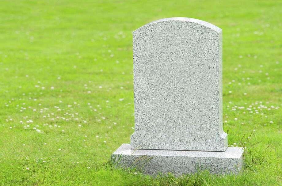 Blank headstone Photo: Rob Atkins, Getty Images / (c) Rob Atkins