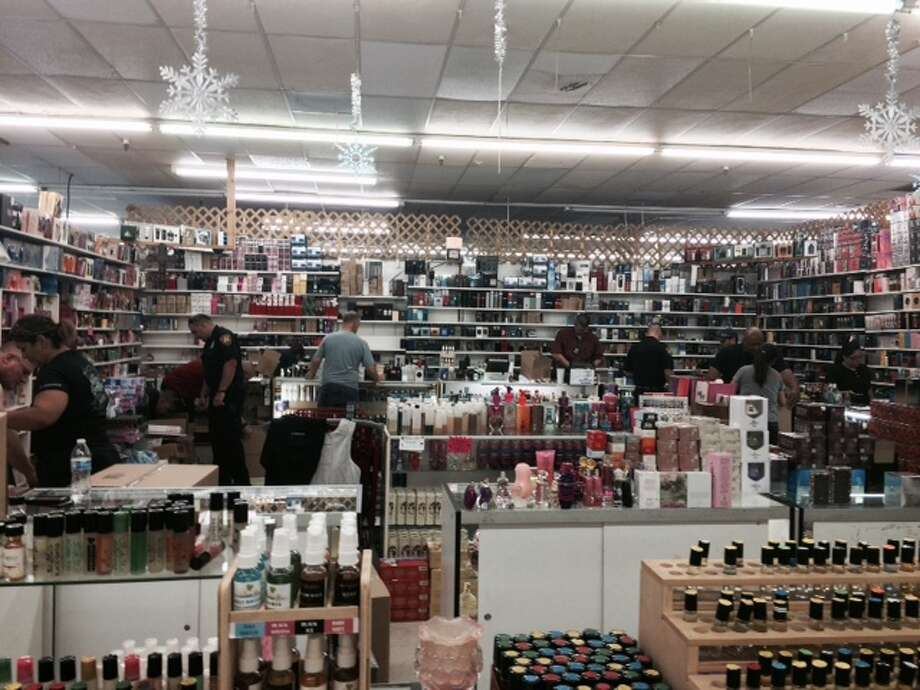 All property from a store in Eisenhauer Flea Market ran by James Cross was confiscated Photo: Courtesy
